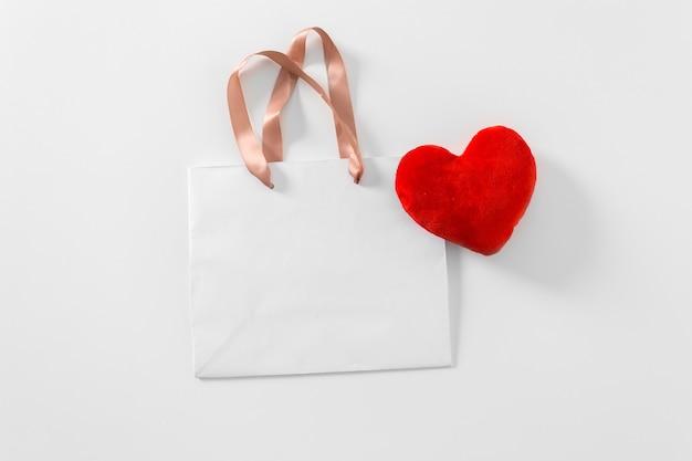 Einkaufstasche, isoliert auf weiss