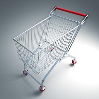 Einkaufstasche mit stahl