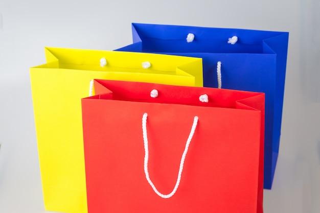 Einkaufstasche und kopie platz für reinen text oder produkt