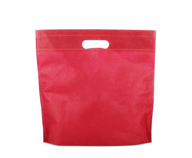 Einkaufstüte isoliert auf weiss mit beschneidungspfad