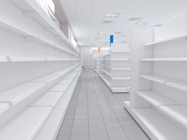 Einkaufszentrum, innenvisualisierung