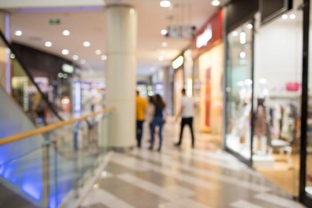 Einkaufszentrum oder kaufhaus