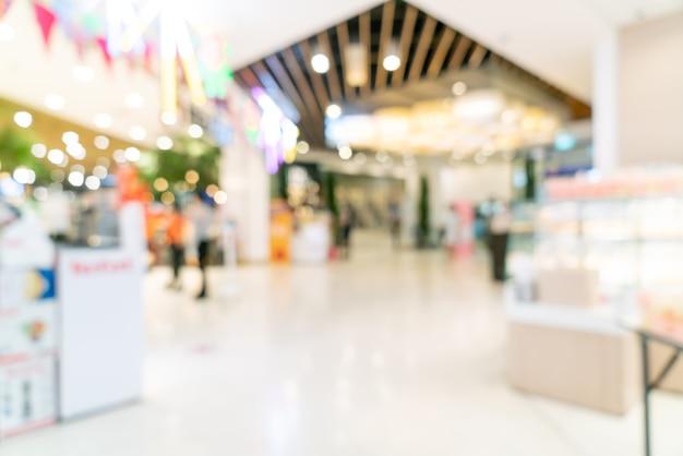 Einkaufszentrum verwischen