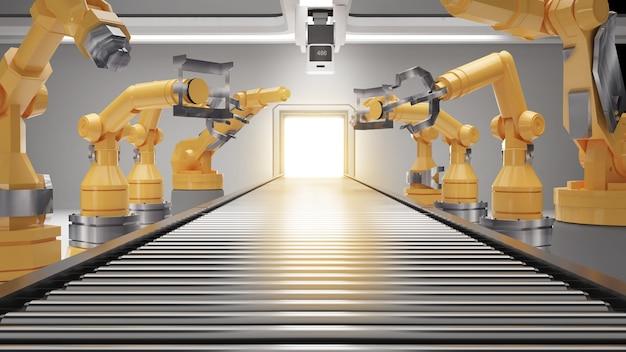 Einsatz von roboterarmen für industrielle produktionslinienroboterarmtechnik in verschiedenen branchen