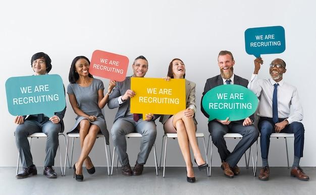 Einstellung karriere beschäftigung personalkonzept