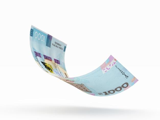 Eintausend griwna währung der ukraine
