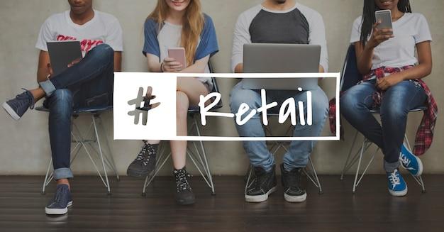 Einzelhandel kaufförderung einkaufen kaufen verkaufen