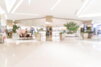 Einzelhandelsgeschäft der abstrakten Unschärfe im Luxuseinkaufszentrum