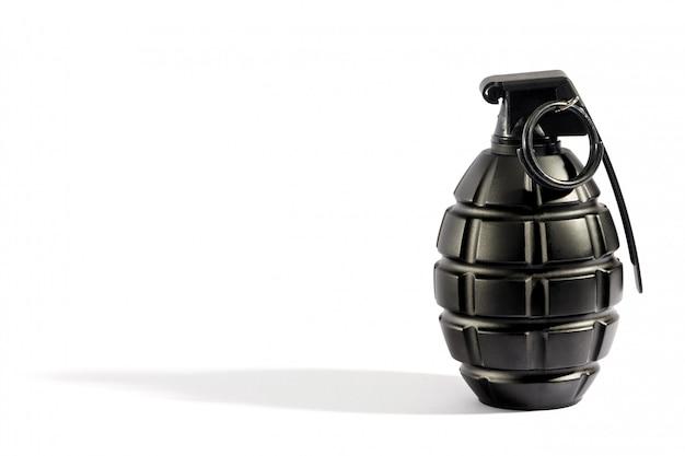Einzelne granate mit exemplarplatz