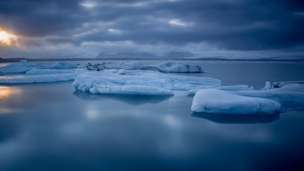 Eis auf dem meer
