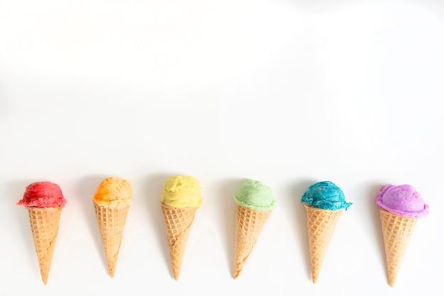 Eis für die lgbt-party