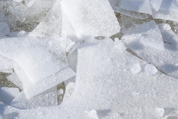 Eis textur und muster