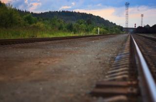 Eisenbahn, landschaft