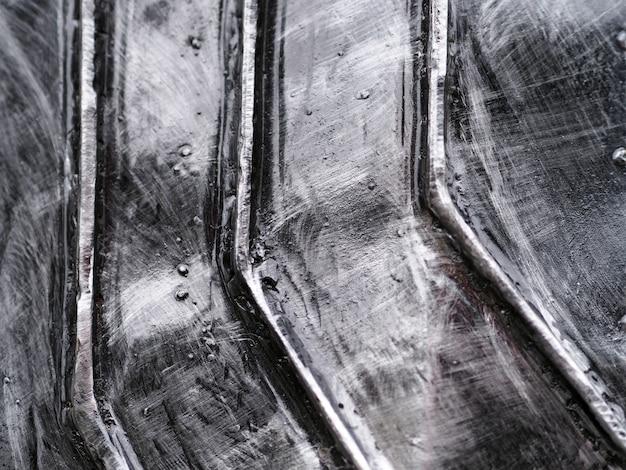 Eisenplatte abstrakten hintergrund.