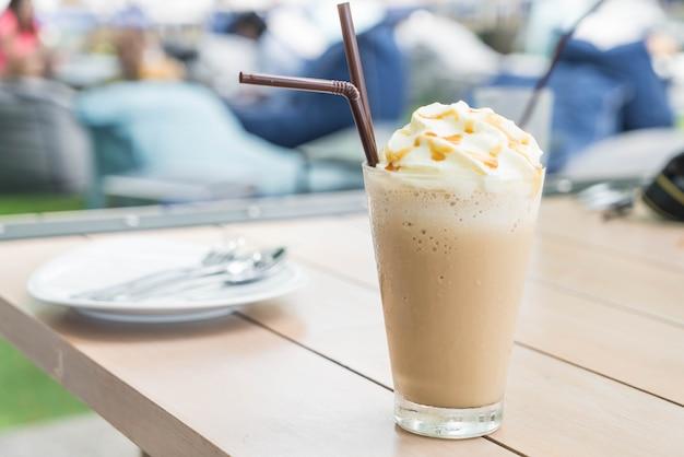 Eiskaffee cappuccino