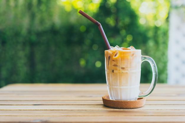 Eiskaffee latte