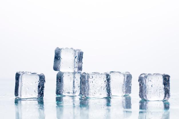 Eiswürfel . kühlkonzept, speiseeis.