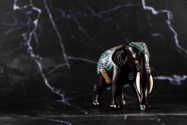 Elefant, schnitzen, handgemachtes handwerk
