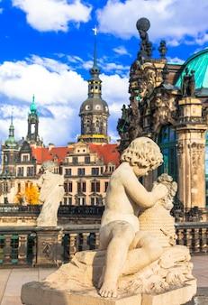 Elegan romantisches dresden, deutschland