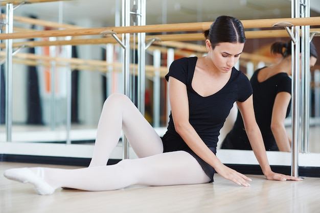Eleganter balletttänzer