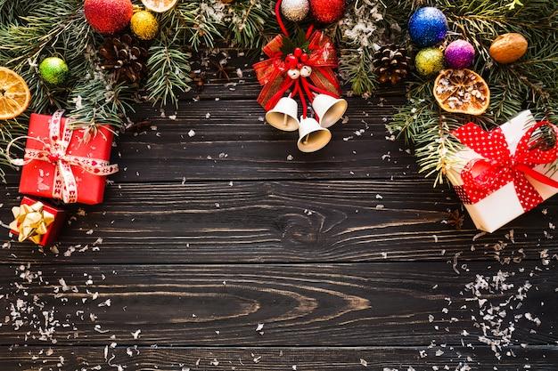 Eleganter weihnachtshintergrund Kostenlose Fotos