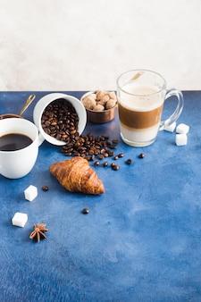 Elegantes kaffeekonzept