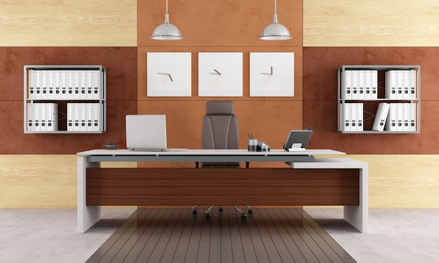 Elegantes modernes büro