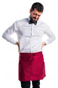 Eleganz person muskulösen körper arbeiter