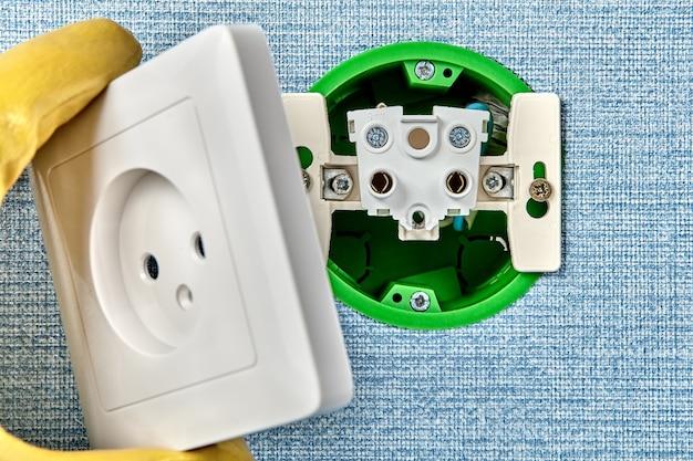 Elektrische dienstleistungen für wohngebäude, einstellung