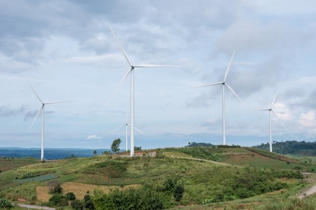 Elektrische eco-stromerzeuger-windkraftanlage in thailand.