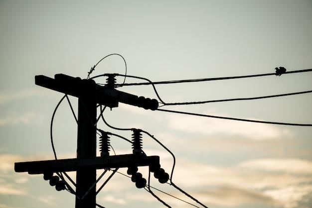 Elektrische hochspannungsisolatorleitung