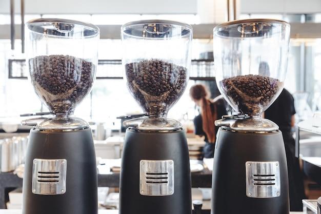 Elektrische kaffeemühle-bohnen-schleifmaschine-kaffeemühle