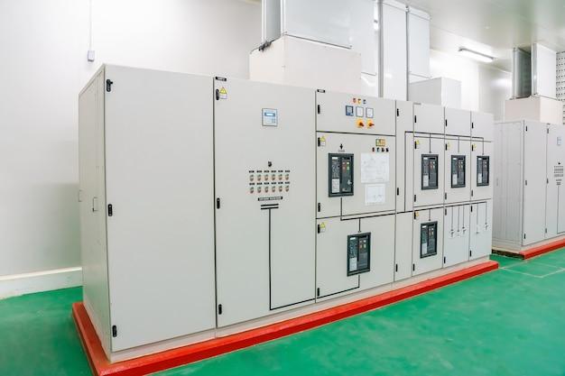 Elektrische schaltanlage industrielle elektrische schalttafel