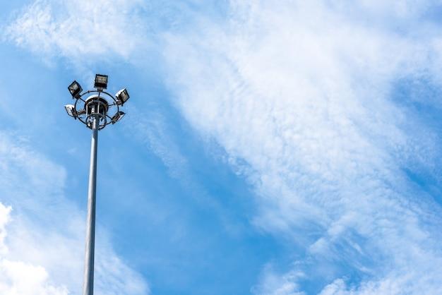 Elektrischer lichtpfosten