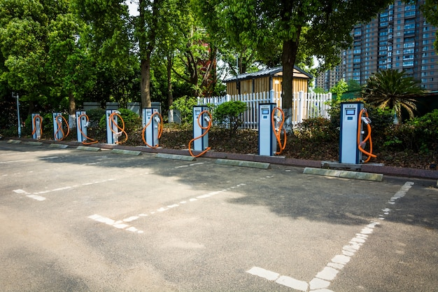 Elektrofahrzeugparken