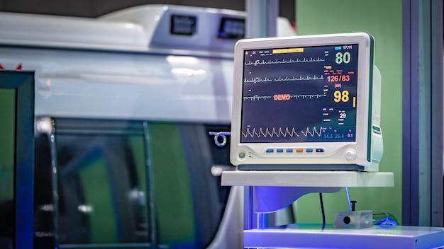 Elektrokardiographisches (ekg) überwachungsgerät