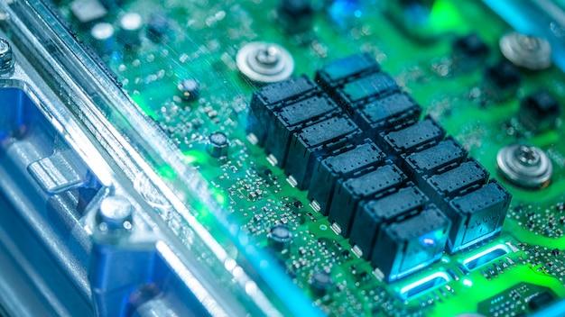 Elektronische computerplatine