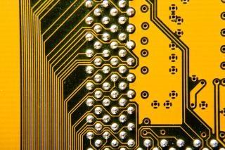 Elektronische schaltung platte
