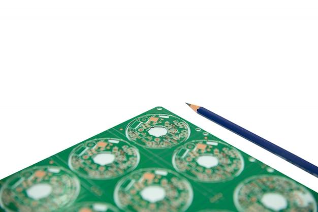 Elektronisches designkonzept, design der elektronischen schaltung und platine