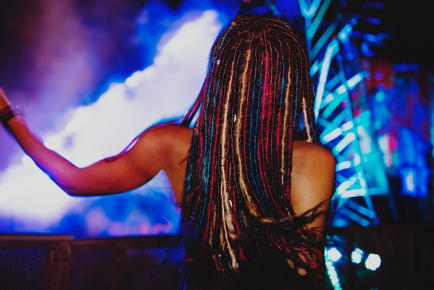 Elektronisches edm-konzertmusikfestival