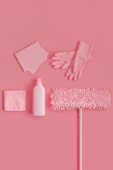 Elemente des reinigungskits