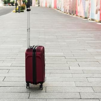 Elemente einer reisenden person