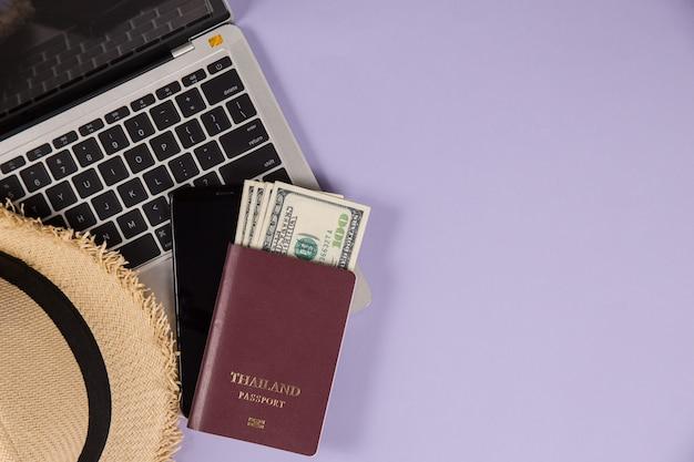 Elemente für die reiseplanung