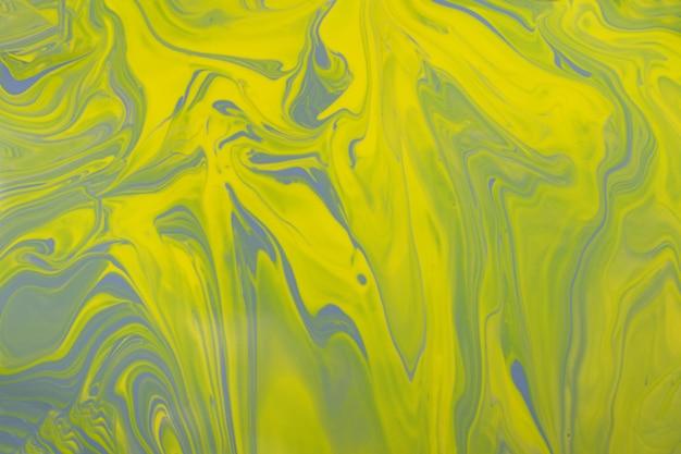 Emaille abstrakter hintergrund in trendigen gelben und grauen farbenmake-up-konzept