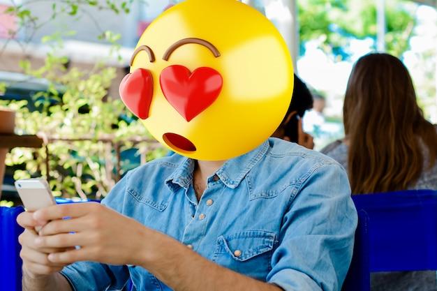 Emoji kopf mann