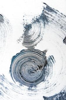 Emotional. creme strukturierte malerei auf nahtlosem hintergrund, abstrakte kunstwerke. hintergrundbild für gerät, exemplar für werbung. das kunstprodukt des künstlers, zweifarbig. inspiration, kreative beschäftigung.