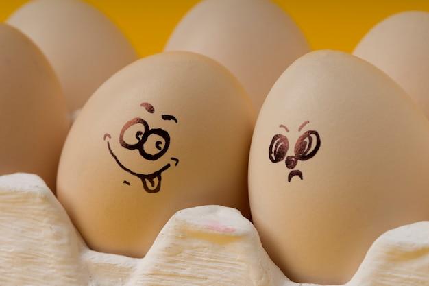 Emotionale eier für frohe ostern.