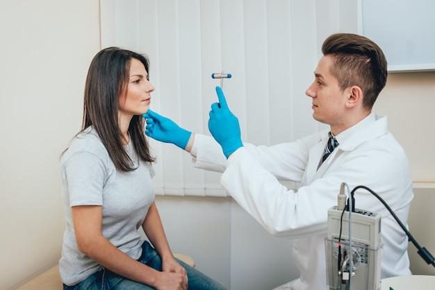 Empfang in der klinik für neuropathologen