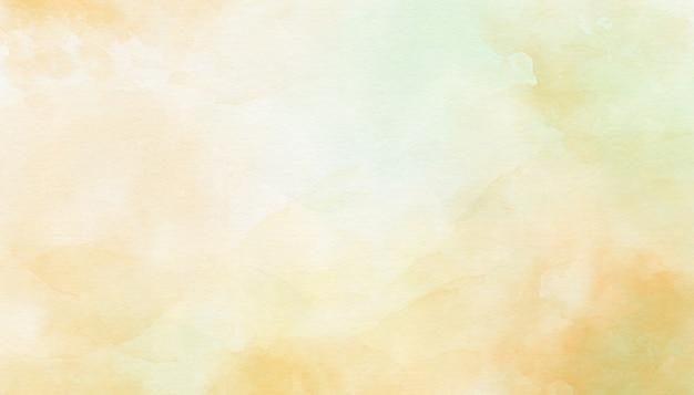 Empfindlicher gelber abstrakter aquarellhintergrund
