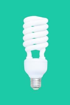 Energiesparlampe, fluoreszierende spirale glühbirne